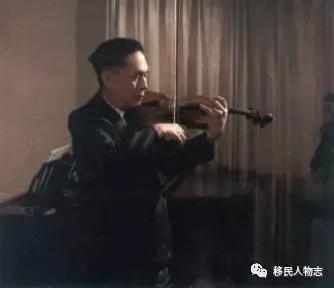 被逼吃草的中国小提琴之王,逃往美国后至死不回